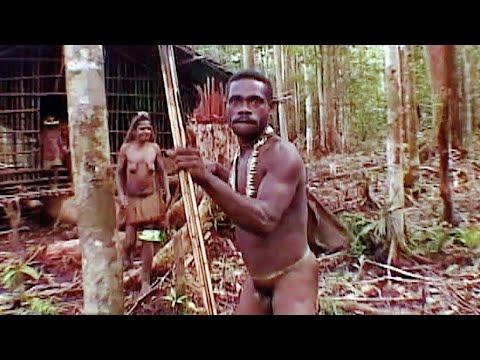 В гости к каннибалам. To Visit Cannibals. Папуа.