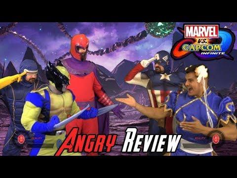 Marvel vs Capcom: Infinite Angry Review