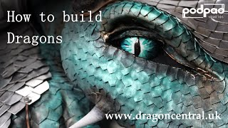 PodpadStudios DragonCentral - making of the Animatronic Dragons and coach prop