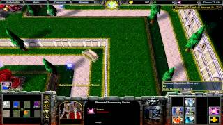 играем в warcraft 3 143 element td survivor с подписчиками
