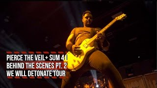 Pierce the Veil + Sum 41 Offer Second Behind the Scenes Look at the We Will Detonate Tour