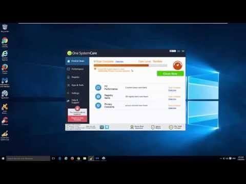 How to uninstall (remove) One System Care from Windows 10