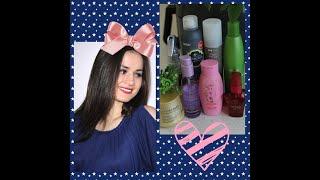 МОЙ УХОД ЗА ВОЛОСАМИ любимые средства для волос L Oreal Serie Expert Estel TSUBAKI и др
