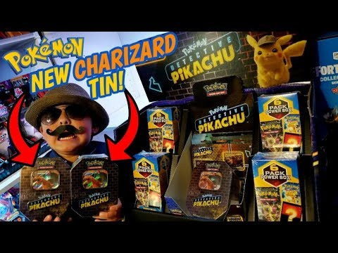 New Rare Charizard Gx Tin Pokemon Cards Only At Walmart New