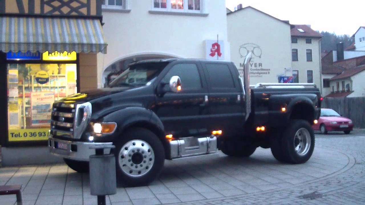 F 650 Ford >> Ford F 650 Meiningen Youtube
