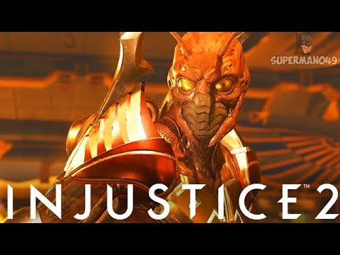 """AWESOME EPIC BLACK, GREEN & RED BEETLE DESTROY! - Injustice 2 """"Blue Beetle"""" Epic Gear Gameplay"""
