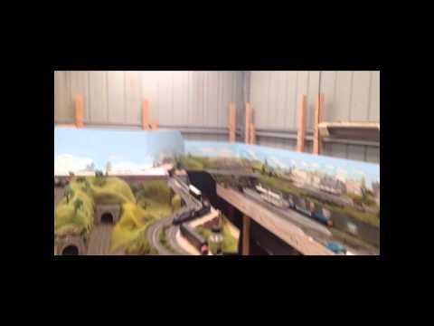 Dan's Model Railway Update Part 32 (b) – building the town scene