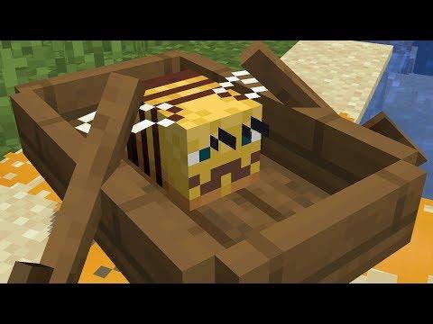 Какие-то неправильные пчёлы в Minecraft