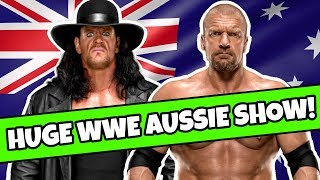 ⚠ NEWS: HUGE WWE AUSTRALIA SHOW ANNOUNCED !!!
