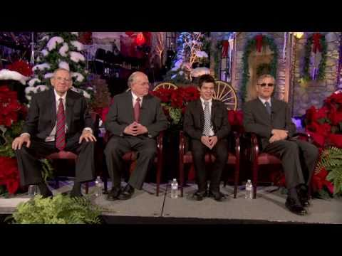Press Conference With David Archuleta and Michael York at Mormon Tabernacle Choir Christmas Concert
