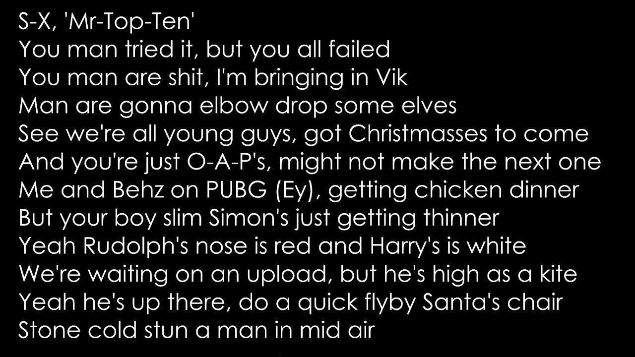 Sidemen - Merry Merry Christmas Lyrics(OFFICIAL LYRICS) Ft. Jme & LayZ - YouTube
