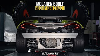 McLaren 600LT with McChip-DKR Stage1