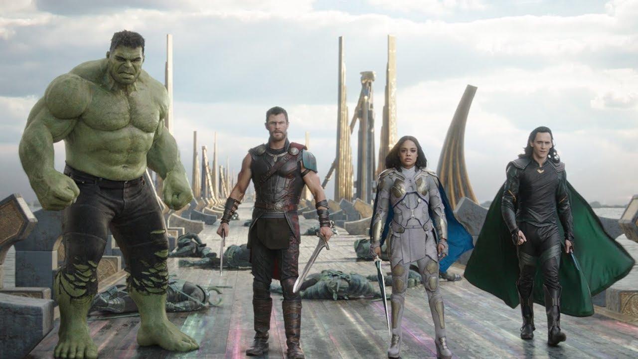 """Thor Ragnarok """"The Revengers"""" Trailer - YouTube"""