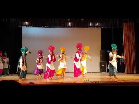PUNJAB UNIVERSITY CHANDIGARH BHANGRA , YOUTH FESTIVAL 2019