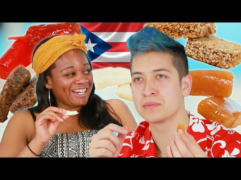 People Try Puerto Rican Candy
