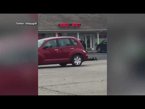 Indiana jail officer holds man at gunpoint in parking lot