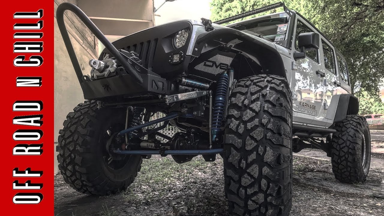 2016 Jeep Wrangler Rubicon on 42 inch Tires and King ...