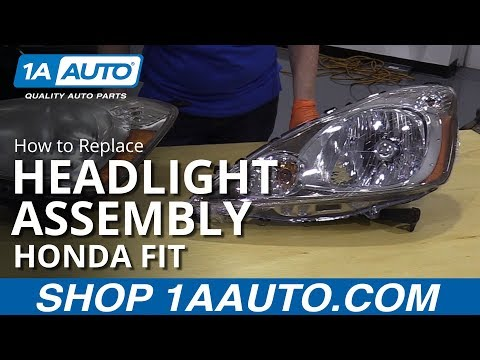 How to Replace Headlight Assembly 2009-11 Honda FIT