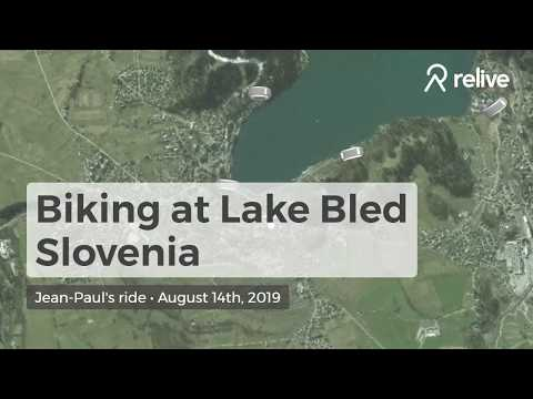 Biking at Lake