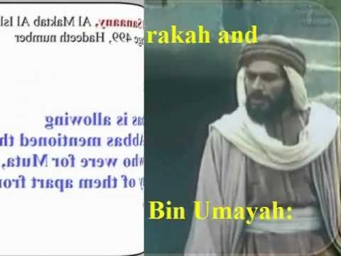 Origin of Muta (temporary marriage) (5/9) Asmaa The daughter of Abu Bakr & Companions did Muta