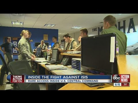 Fighting ISIS from Central Command on MacDill AFB: Is the strategy working?
