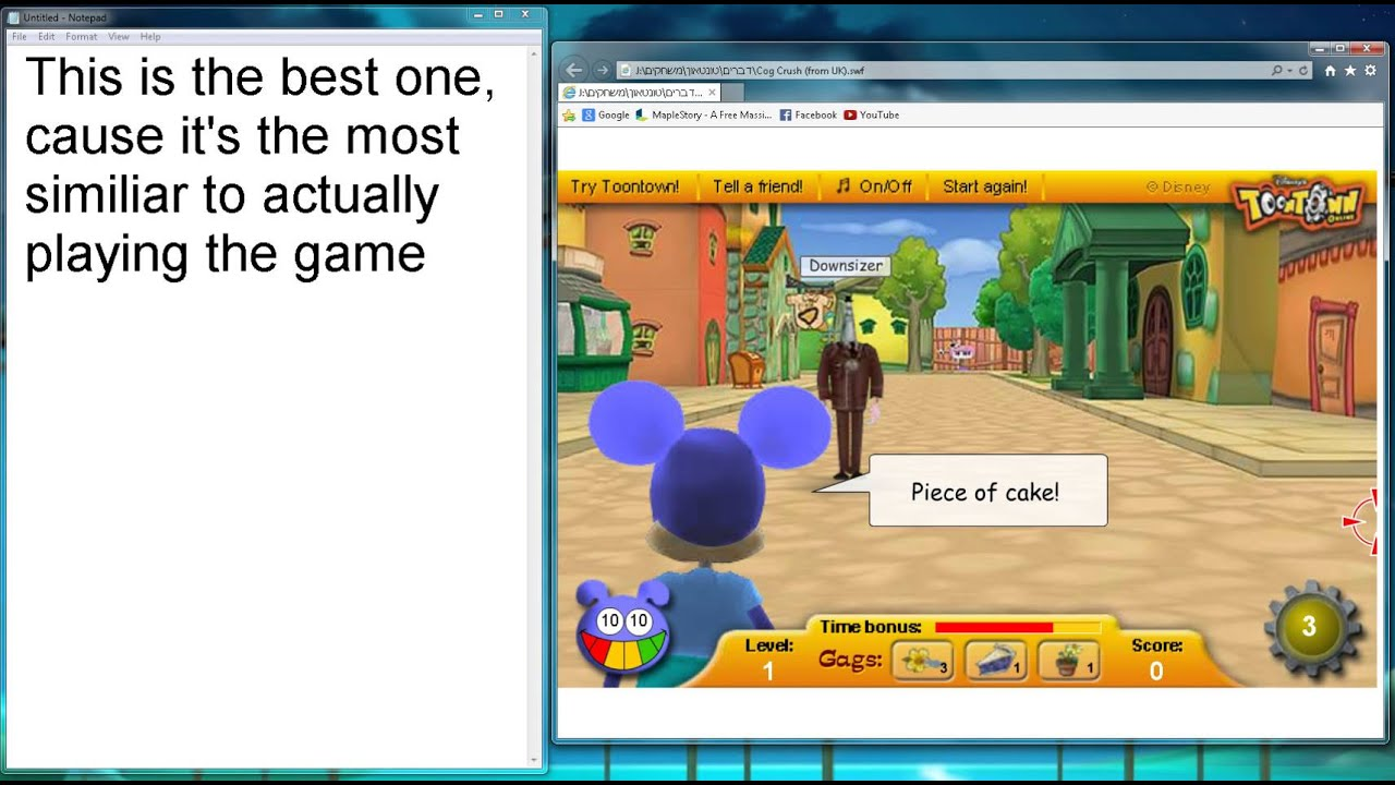 Be featured permanently in toontown flippy's fast food.