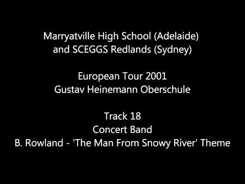 Bruce Rowland - Theme from 'The Man From Snowy River' -- Marryatville High & SCEGGS Redlands