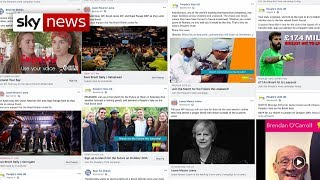 Facebook adverts target Remain areas of the UK ahead of people's vote march