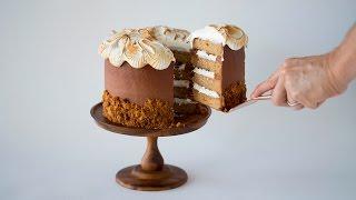 How to Make a Smores Cake