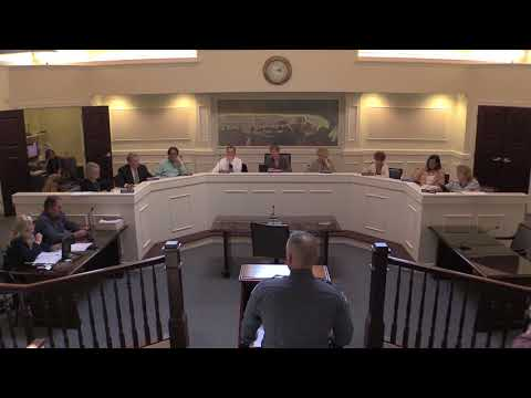 Stone Harbor   Work Session May 15, 2018