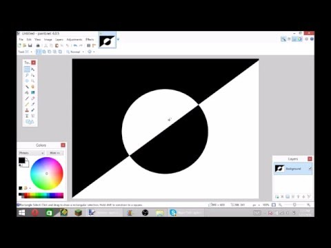 how to make the invert colors pic in youtube