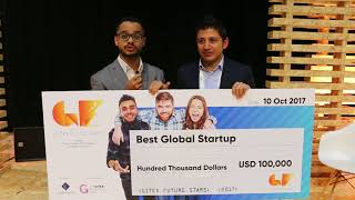 Sadeem-Best Global Startup Winner for GITEX Future Stars Supernova Pitch Competition 2017