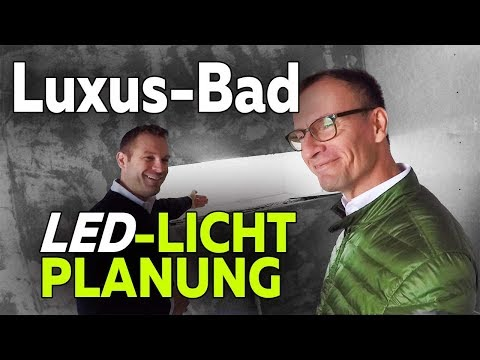 Smartest Home - Detailplanung LED-Licht im Bad   Ambiente-Beleuchtung - Folge 17