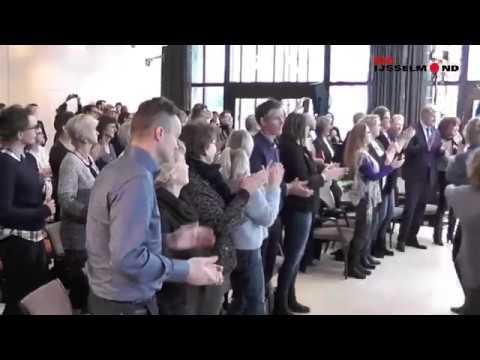Flashmob IJsselheem voor Staatssecretaris  Van Rijn