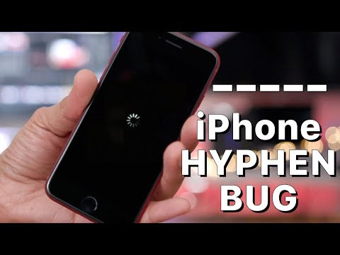Download A hyphen causes iPhones to crash! Mp4 baru