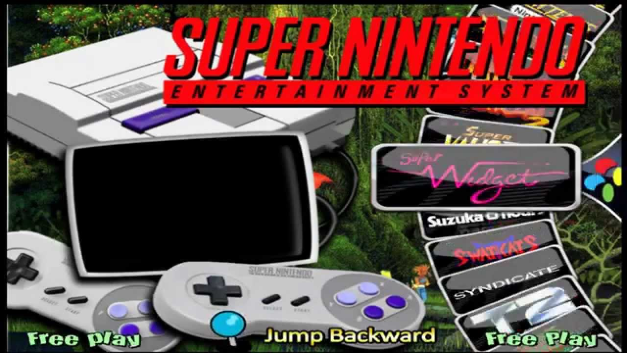 Super Nintendo para Hyperspin (COMPLETO) MEGA DOWNLOAD