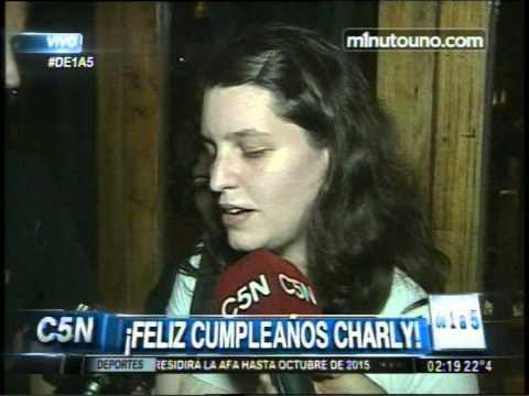 C5N - DE1A5: EL CUMPLEAÑOS DE CHARLY GARCIA (PARTE 1)
