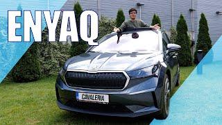 Skoda Enyaq iV 80 - Peste VW ID.4 - Cavaleria.ro