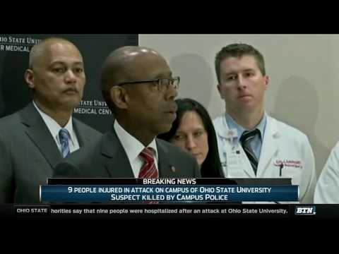 Ohio State Press Conference - Update on Campus Attack