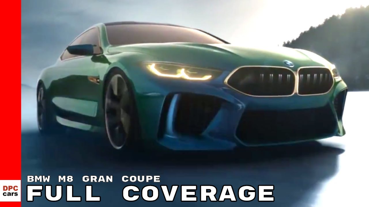 Bmw M8 Gran Coupe Full Coverage Youtube