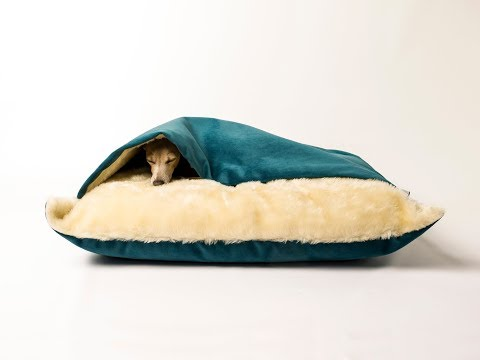 Charley Chau Snuggle Bed for dogs that love to burrow