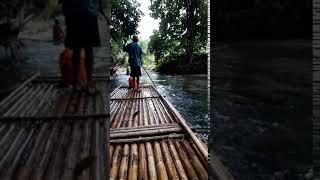 Сплав на бамбуковых плотах в джунглях, Пхукет - ч.3