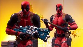 Fortnite Season 2 Chapter 2 - Epic Deadpool Squad (Fortnite Battle Royale)