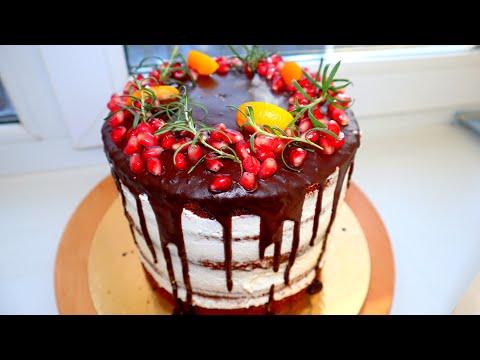 ТОРТ «ЧЕРНЫЙ ЛЕС» - Шоколадный торт с вишней
