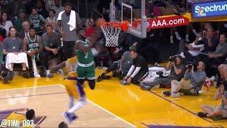 Jaylen Brown Highlights vs Los Angeles Lakers (16 pts, 8 reb)