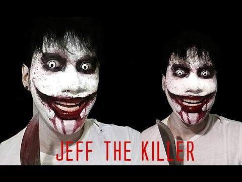 jeff the killer makeup tutorial by prince de guzman youtube