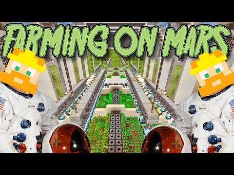 Minecraft Xbox - Automatic Farm On Mars (7)