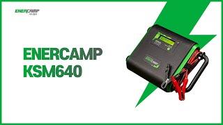 [에너캠프] KSM640 - 12V 최대 300A충전, 캠핑카, 모터보트, 대형트럭 배터리충전