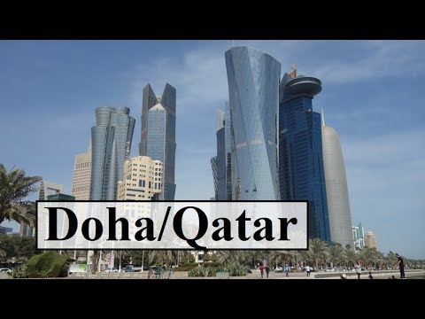 Qatar/Doha Waterfront Walk-The Corniche  Part 4