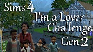 Sims 4: LP I'm a Lover Challenge Gen 2~Part 39
